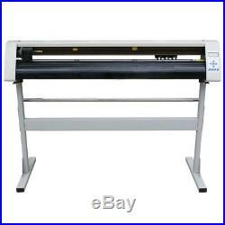 48Sign Sticker Vinyl Cutter Plotter Cutting Machine RS-1360C+STAND +Software iv