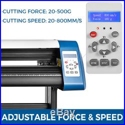 53 Inch Vinyl Cutter Sign Maker + Free Design/Cut Software Laser positioning