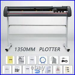 53 Plotter Cutting Machine Vinyl Plotter Cutter withSoftware + Supplies US Stock