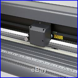 53 Vinyl Cutter Sign Cutting Plotter 3 Blades Cut Device Artcut Software Good