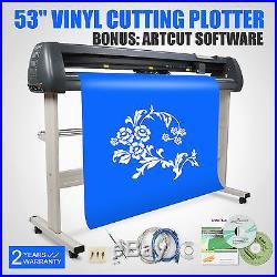 53 VINYL CUTTER SIGN CUTTING PLOTTER WithSTAND DESIGN/CUT ARTCUT SOFTWARE ON SALE