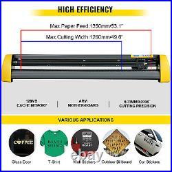 53 Vinyl Cutter/Plotter Sign 1350mm Cutting Machine withSoftware Supplies