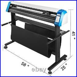 53 Vinyl Cutter Plotter Sign Cutting Machine Signmaster Software LCD Screen