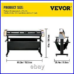 53 Vinyl Cutter/Plotter Sign Cutting Machine withSoftware 3 Blades LCD Screen