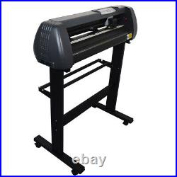 53 Vinyl Cutter Plotter with Stand Signmaster Cut Software Cutting Size 1260mm