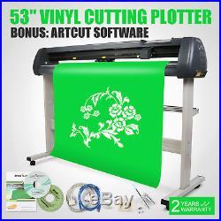 53 Vinyl Cutter Sign Cutting Plotter 3 Blades Maker Artcut Software Wise Choice