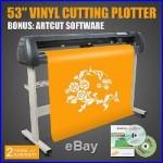 53 Vinyl Cutter Sign Cutting Plotter Wide Format Maker Artcut Software Good