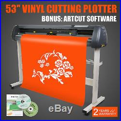 53 Vinyl Sign Sticker Cutter Plotter Contour Cut Function With Stand Software
