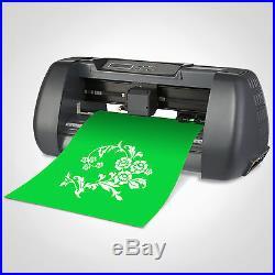 5in1 Heat Press Transfer 14 Vinyl Cutting Plotter Software Sticker Cutter
