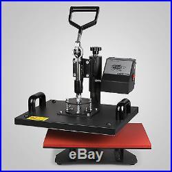 5in1 Heat Press Transfer Kit 14 Vinyl Cutting Plotter Software Cutter Clamshell