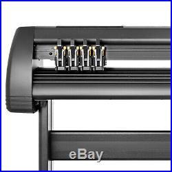 5in1 Heat Press 15x12 53 Vinyl Cutter Plotter Desktop Drawing Tools Software