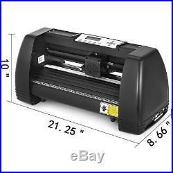 5in1 Heat Press 15x15 Vinyl Cutter Plotter 14 Software Business Stepper motor