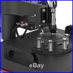 5in1 Heat Press 15x15 Vinyl Cutter Plotter 34 T-Shirt Software 3 Blades