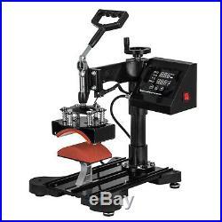 5in1 Heat Press 15x15 Vinyl Cutter Plotter 53 Sublimation Software Pattern