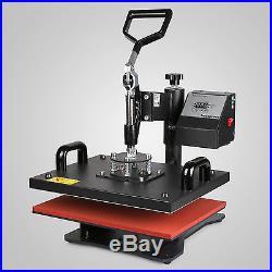 5in1 Heat Press Transfer Kit 53 Vinyl Cutting Plotter CLamshell Cutter Software