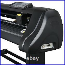 720mm LCD Sign Sticker Vinyl Cutter withSoftware 28 Vinyl Cutting Plotter Machine