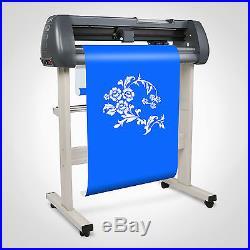 720mm Vinyl Cutting Plotter Sign Cutter 3 Blades Printer Sticker Artcut Software