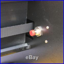 72cm Cutter Vinyl Cutter Plotter Sign Cutting Machine Software Supplies Black US
