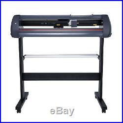870mm Sign Sticker Vinyl Cutter with Software 34 Vinyl Cutting Plotter Machine