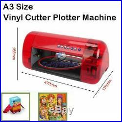 A3 Vinyl Cutter Cutting Plotter Carving Machine Artcut Software DIY