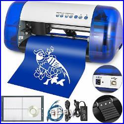 A4 Vinyl Cutter Cutting Plotter Carving Machine Protable Artcut Software DIY UPS