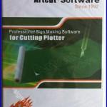 ARTCUT 2009 Software 9 Languages For Vinyl Cutting Cutter Plotter 2x CD