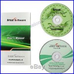 Artcut 2009 Graphec Disc &9 Language Cutting Plotter Software Vinyl Cutter