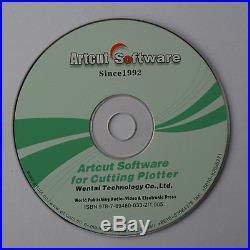 Artcut 2009 Sign Making Software for Cutting Plotter Vinyl Cutter 9 Languages