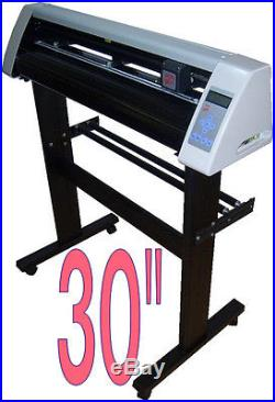 BRAND NEW 30 inch VINYL CUTTER SM with UNLIMITED POWERFUL SOFTWARE