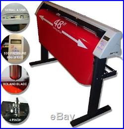BRAND NEW SM 48 vinyl cutter / Cutting software PRO 2014 Unlimited Powerful