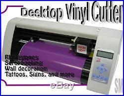 Brand NEW Vinyl cutter 15 + Unlimited PRO 2014 software + Rhinestone film tap