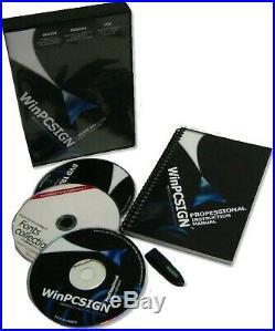 Brand New Gcc Expert II Vinyl Cutter + Winpcsign Pro 2018 Software, Vinyl