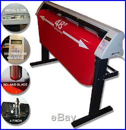 Brand new wide format SM 48 ready to use vinyl cutter with Unlimited Software