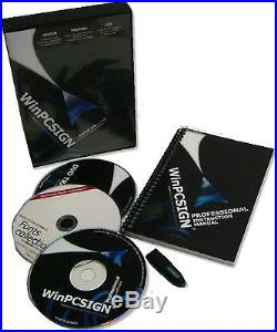 BrandNEW Vinyl Cutter 30 SM + UNLIMITED SOFTWARE + VINYL + MECHANICAL POINTER