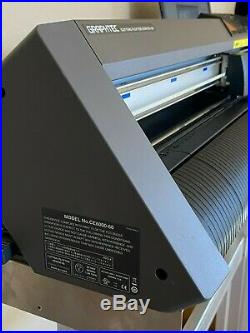 Bundle Graphtec CE6000-60 24 Vinyl Cutter Plotter Including Stand and Software
