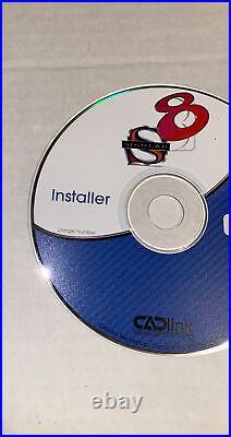 CADlink Signlab 8 Signmaking Software Installer Disk Install Manual User Guide