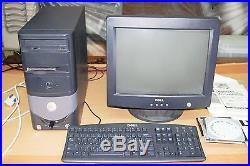 Dell computer with lynx vinyl cutter and stand lxi sign making software