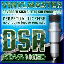 Design Software Vinyl Sign Cutters Wide Large Format 3D Printing VinylMaster DSR