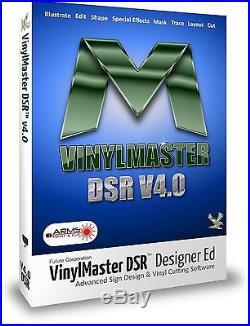 Design Software Vinyl SignArt Cutters Wide Large Format Printing VinylMaster DSR