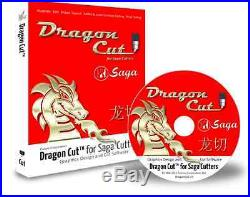 DragonCut Saga Vinyl Cutter Software with CD