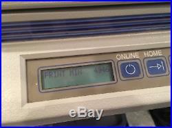 Gerber Edge Printer, Gsx-Plus Vinyl Cutter Plotter Omega Software Low Minutes
