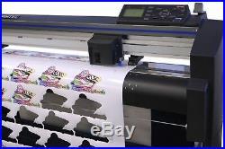 Graphtec FC8600-130 54 Vinyl Cutter, $700 in Software, Starter Bundle & 3 Year