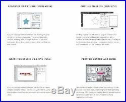 Graphtec FC8600-60 24 Vinyl Cutter, $700 in Software, Starter Bundle & 3 Year W
