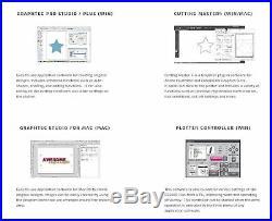 Graphtec PLUS CE6000-60 24 Inch Vinyl Cutter, BONUS $2100 in Software, 2 Year Wa