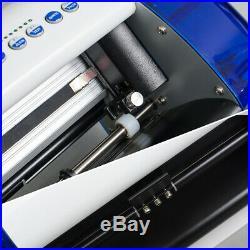 HOT US A4 Vinyl Cutter Cutting Plotter Carving Machine Portable Artcut Software