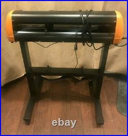 HTV 24 GCC Expert LX 24 Vinyl Cutter Plotter withstand witheye no software