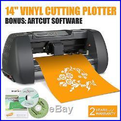 NEW 14 VINYL CUTTER / SIGN CUTTING PLOTTER With ARTCUT SOFTWARE CUTTER