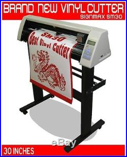NEW 30 Vinyl Cutter, Unlimited Professional Software 2012, Vinyl & Engraving kit