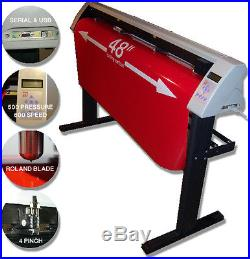 NEW 48 Sign MAKING Vinyl Cutter Unlimited Cutting Professional software 2014