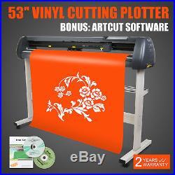 NEW 53 VINYL CUTTER / SIGN CUTTING PLOTTER With ARTCUT SOFTWARE DESIGN STICKER